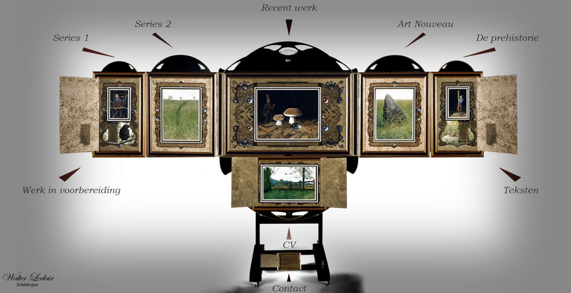 walterleclairschilderijen
