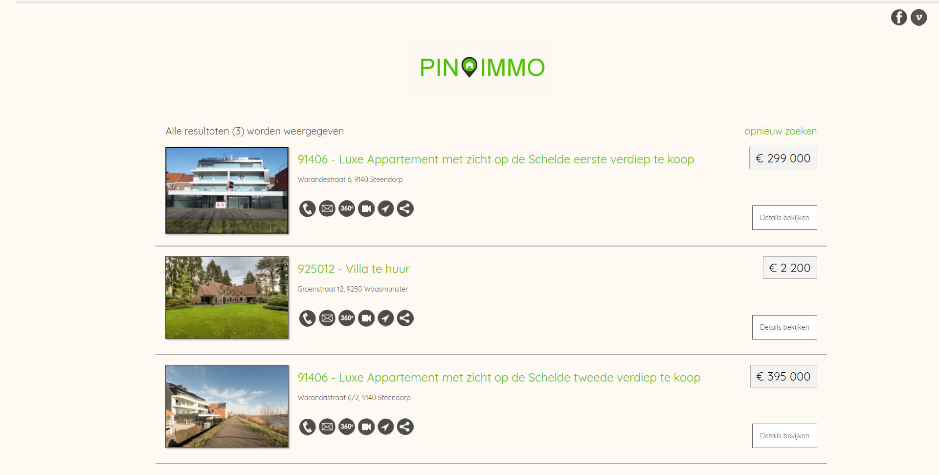 webdesign Pin Immo