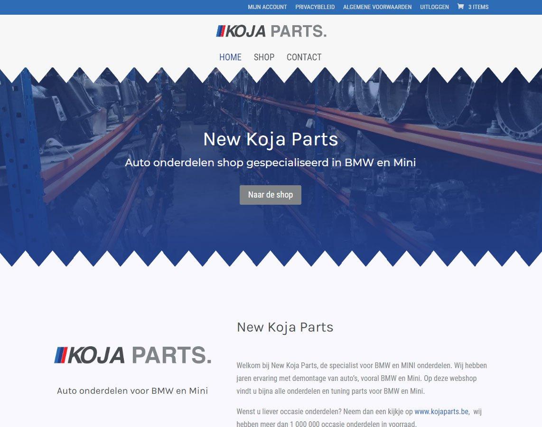 New Koja Parts