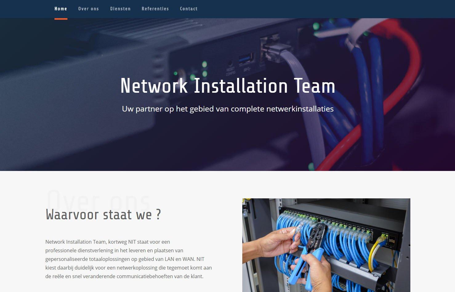 Network Installation Team