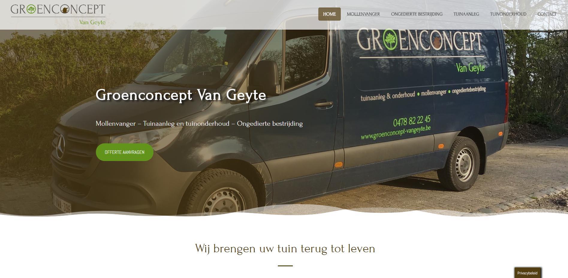 Groenconcept Van Geyte